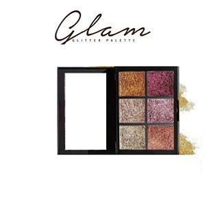 Glam Glitter Palette Uni- Makeup  Cor A