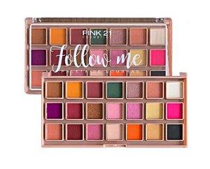Paleta de Sombras Follow Me - Pink 21