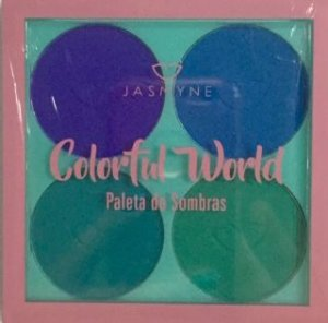 Paleta de sombras Colorful Word - Jasmyne Cor B