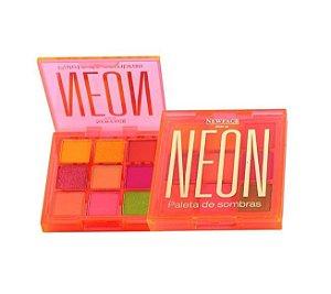 Paleta de Sombras Neon - Newface Laranja