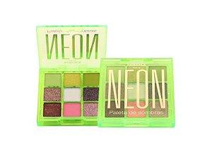 Paleta de Sombras Neon - Newface Verde