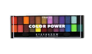 Paleta de Sombras Color Power - Pink 21
