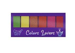 Paleta de Sombras Colors Lovers - City Girls A