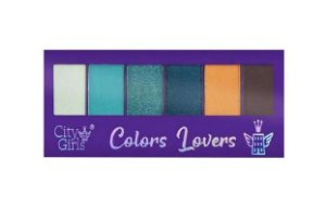 Paleta de Sombras Colors Lovers - City Girls B