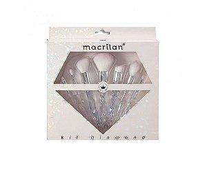 kit de Pincéis Diamond Macrilan ED 300