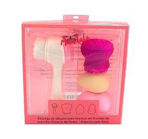 Kit de Limpeza e Esfoliação Facial- Mandala
