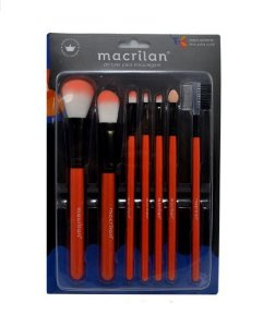 Kit com 7 Pincéis - Macrilan KP5 -9A