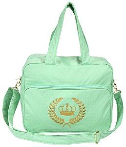 Bolsa Maternidade M Verde Coroa Rafi