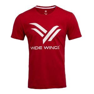 Camiseta Wide Wings Vermelha