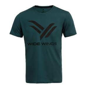Camiseta Wide Wings Petróleo