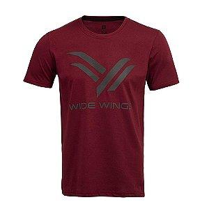 Camiseta Wide Wings Vinho