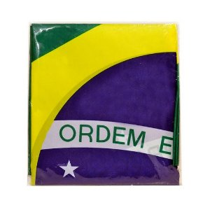 BANDEIRA BRASIL ZEIN TECIDO 60x90