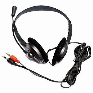 Fone de Ouvido Estéreo | X-CELL | XC-HS12 | PLUGUE P2 |