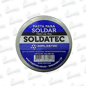 PASTA PARA SOLDAR 50g | SOLDATEC | IMPLASTEC