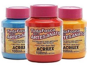 Tinta PVA Fosca  Artesanato Acrilex - 100ml