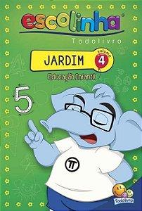 LIVRETO EDUCAÇÃO INFANTIL VOLUME 4 - JARDIM