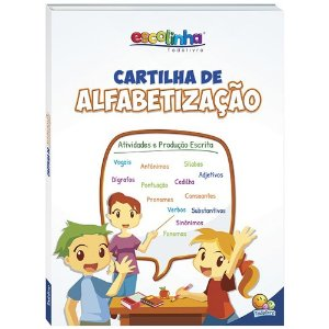 LIVRO CARTILHA DE ALFABETIZAÇÃO - ATIVIDADES E PRODUÇÃO ESCRITA