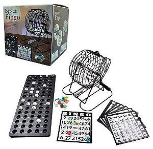 Jogo de Bingo c/ Globo de Sorteio