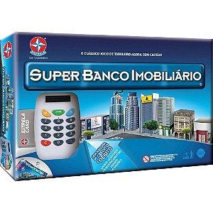 JOGO SUPER BANCO IMOBILIÁRIO C/ MAQUININHA DE CRÉDITO | BRINQUEDOS ESTRELA