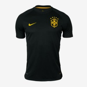 Camisa Nike Brasil - Verde Escuro