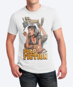 Camiseta I Said God Damn - Pulp Fiction