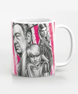 Caneca Two Kinds Of Pain - House Of Cards