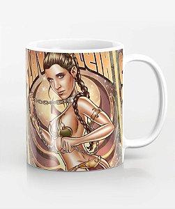 Caneca Slave Leia - Star Wars