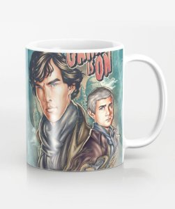 Caneca The Game Is On - Sherlock