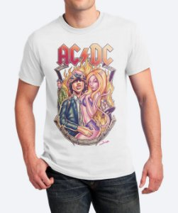 Camiseta Highway To ACDC