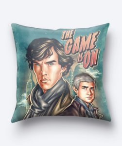 Almofada The Game Is On - Sherlock