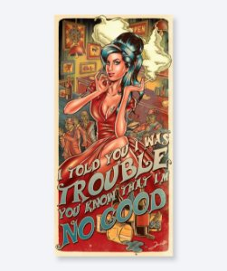 Poster I Told You I Was Trouble - Amy Winehouse