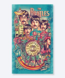 Poster All We Need is Beatles