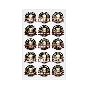 Tabela de Adesivo 33x48cm Vinil com Corte Especial - 10 UN