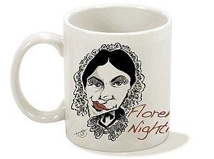 Caneca Série Enfermagem - Florence Nightingale