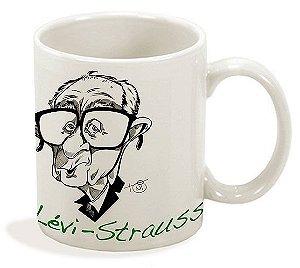 Caneca Série Antropólogos - Lévi-Strauss