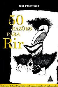 Livro 50 Razões Para Rir - Autografado!