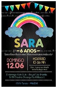 CONVITE VIRTUAL MODELO LOUSA arco iris