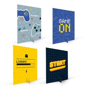 SILHUETAS DECORATIVAS GAMES (5 UNIDADES)