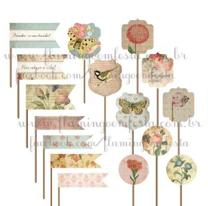 TOPPERS SHABBY CHIC