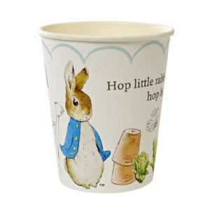COPO PETER RABBIT (12 UNID)