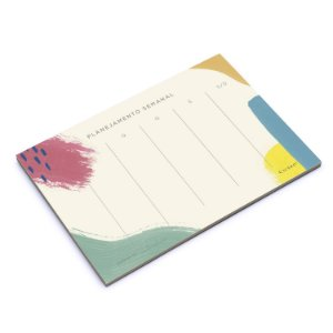 BLOCO PLANNER CANVAS SEMANAL