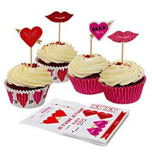 KIT PARA CUPCAKE LOVE 2 (48 FORMINHAS + 24 TOPPERS)
