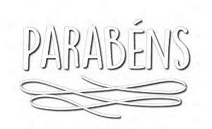 TRANSFER PARA BALÃO PARABÉNS BRANCO P (22 X 18 CM)