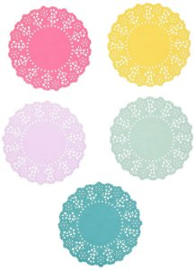 PORTA COPOS DOILIES SORTIDOS TALKING TABLES (100 UNIDADES)