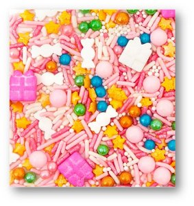 CONFEITOS MIX SUGAR PLUM (100 g)