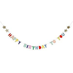 GUIRLANDA HAPPY BIRTHDAY TO YOU (1,5 M)