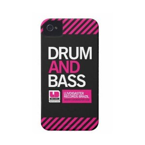 Capa iPhone 4/4S - Drum and Bass