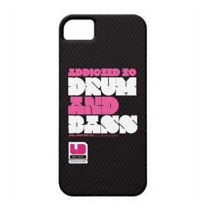 Case iPhone 5/5S Addicted to DNB