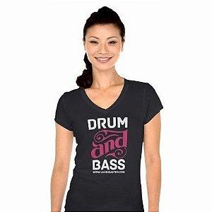 Baby Look Feminina Drum Bass
