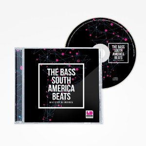 CD - The Bass South America Beats mixed by DJ Marnel